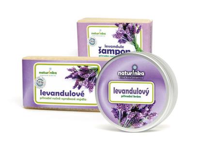 Levandulový balíček (2 X 110 g + 80 ml)